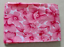 Vintage Wabasso No Iron Retro Flower Power Fitted Twin Sheet - Unused