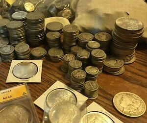 Estate Lot Sale Auction Coins Silver Gold Bullion Found After 60 Years Hidden Ebay