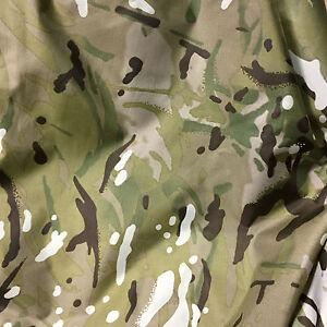 1 x Metre Waterproof Multicam / MTP Match 4oz Nylon ( Army Camouflage fishing