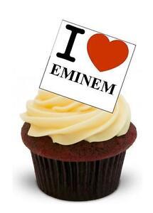 Wondrous Novelty I Love Eminem Stand Up Edible Cake Toppers Birthday Rapper Funny Birthday Cards Online Bapapcheapnameinfo