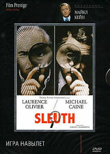 Sleuth DVD (1972) PAL DVD!!! (Lawrence Olivier and Michael Kaine)