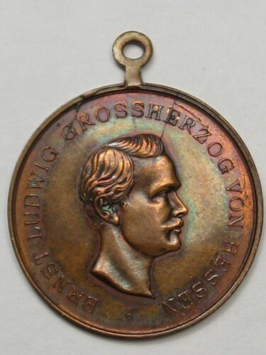 1897 Medal 200th Anniversary of 117 Regimen's Grand Duke Ernst Ludwig. #24