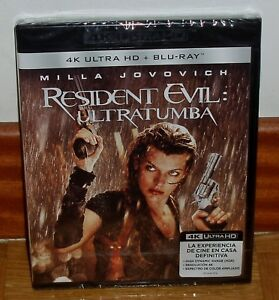 Resident-Evil-Ultratumba-Blu-Ray-4K-Ultra-HD-Blu-Ray-New-Sealed-Action-R2