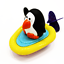 Cute Swimming Bathroom Shower Floating Water Baby Toys Penguin Frog Duck Wind Up