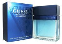 Guess Seductive Homme Blue 3.4 Oz Edt Men Spray Cologne on sale