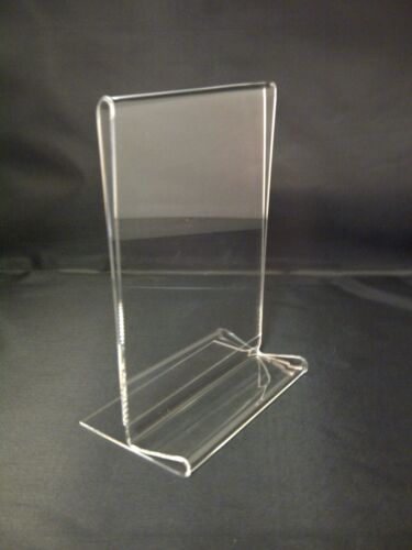 A6 /& DL SIZE LEAFLET FLYER STANDS A4 ACRYLIC COUNTER POSTER DISPLAYS A3 A5