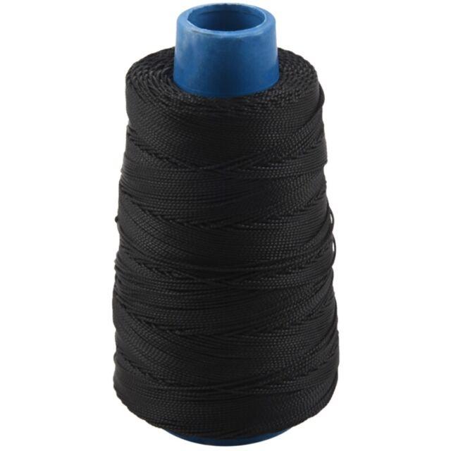 LQNB 400m 80lbs Nylon Twisted Bowstring Thread Fishing String Sewing Cord Kite Line Black