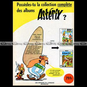 ASTERIX-039-Les-albums-039-Uderzo-1967-Pub-Publicite-Ad-A10