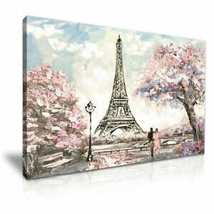 France-Paris-PICTURE-PRINT-CANVAS-WALL-ART-FRAMED-20X30INCH