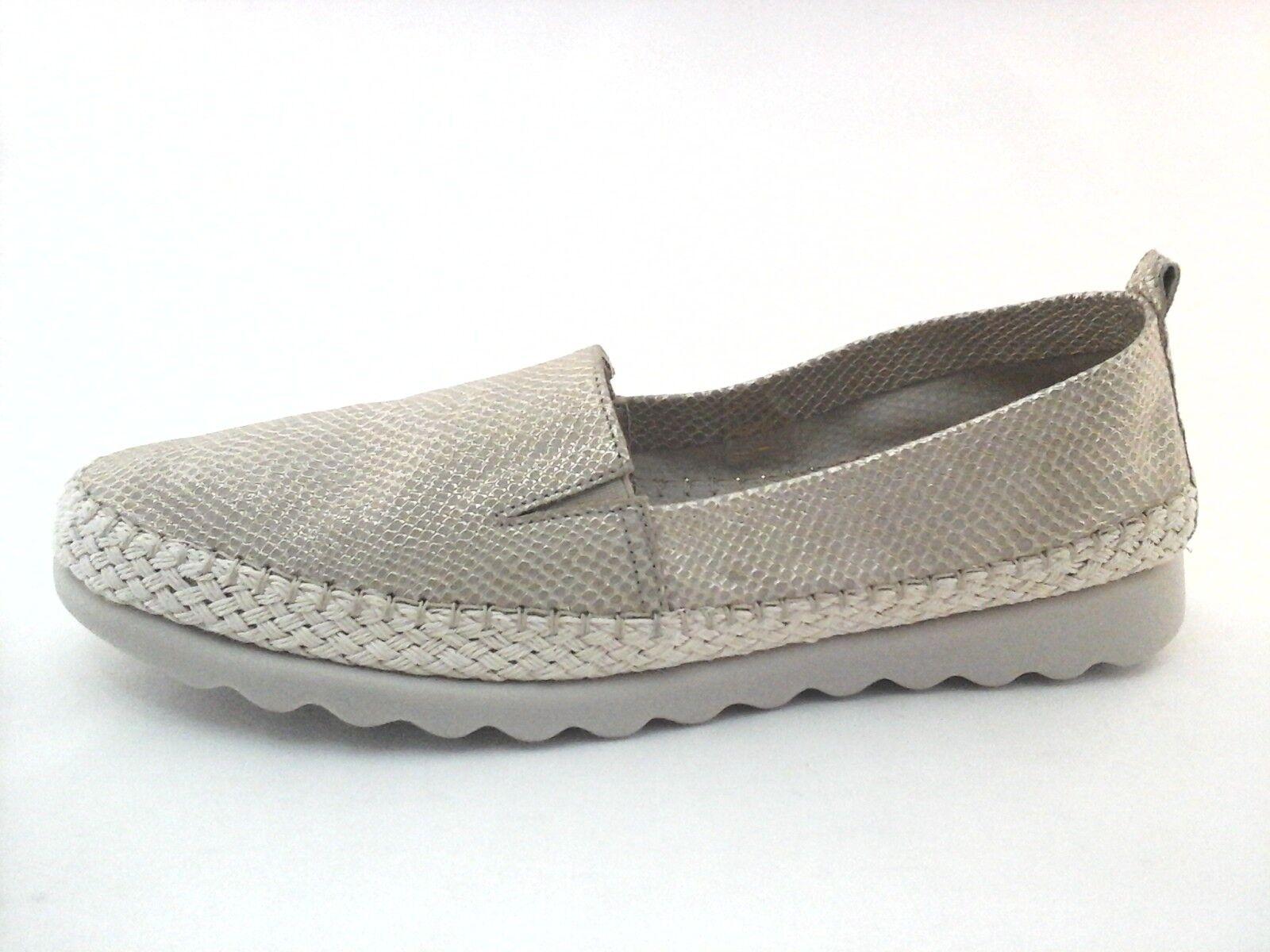 The The The Flexx Zapatos Chappie Alpargatas Tacón Bajo oro Metálico Serpiente US 9 EU 40.5  130  caliente