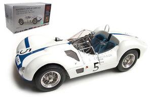 Cmc M-047 Maserati Tipo 61 Cage à oiseaux 1000 km Nurburgring 1960 - Mousse / Gourde 1/18 700153570688
