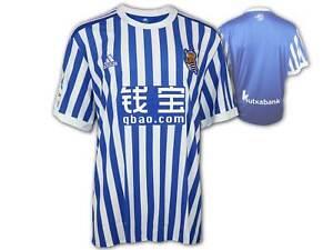 adidas Real Sociedad San Sebastián Heim Trikot Real Sociedad Home Shirt Gr.XXL