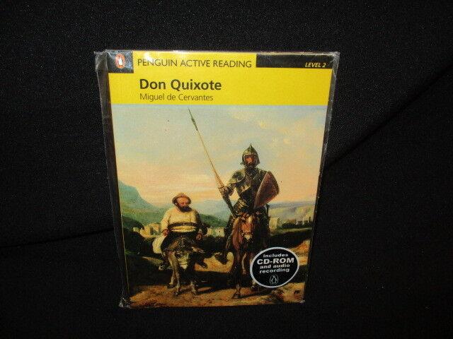 (Good)Don Quixote; Penguin Active Reading Level 2, Miguel De Ce, , 9781405884426