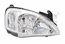 Headlight Front Lamp Right Fits OPEL Combo Corsa Vita C Hatchback 2000-2003