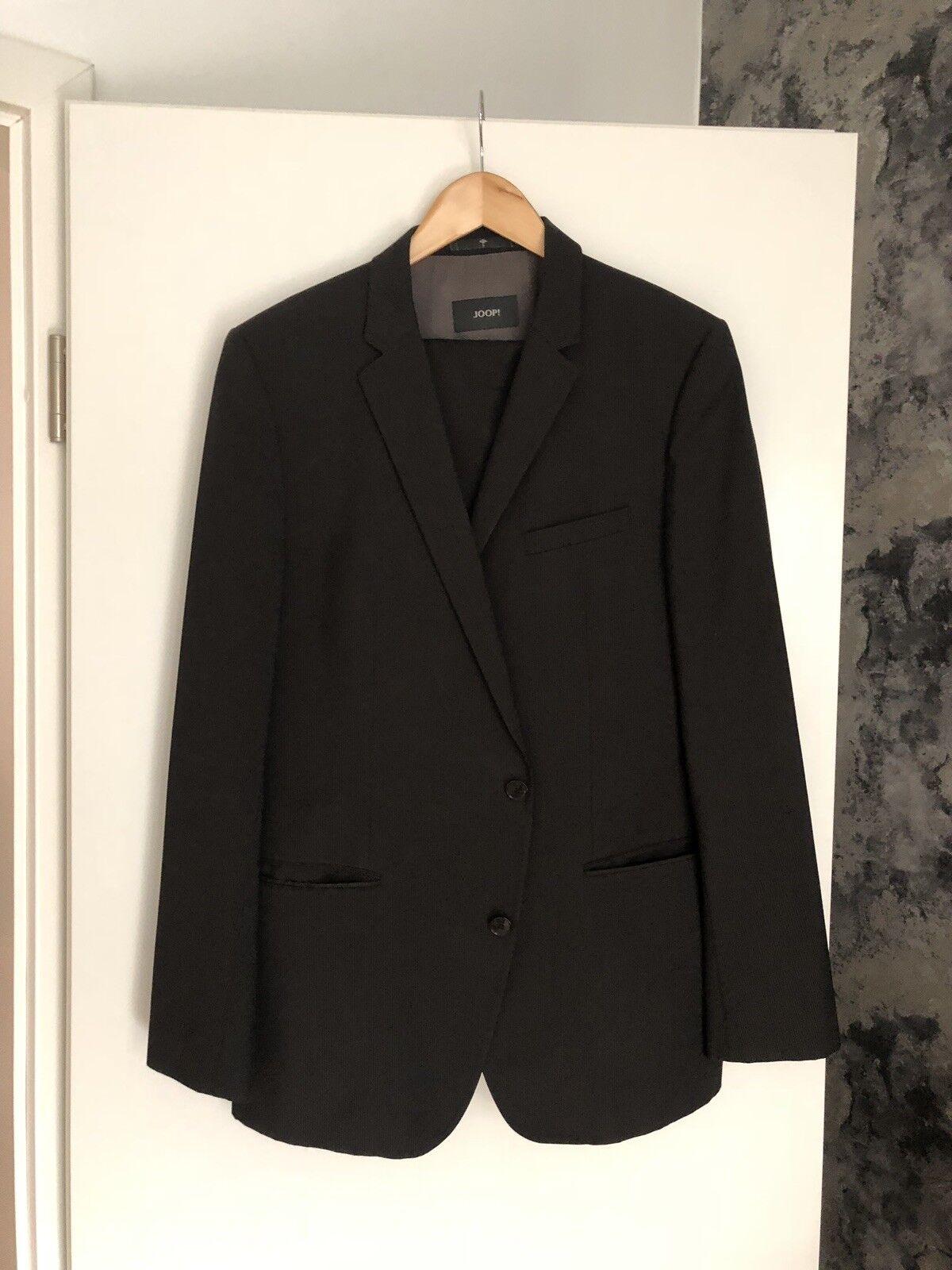 JOOP  FINCH-BRAD Anzug GR 52 anthrazit/schwarz