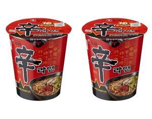 Korean-Instant-Noodle-NONGSHIM-Shin-Ramyun-2pack-Cup-Ramen-Ramyun