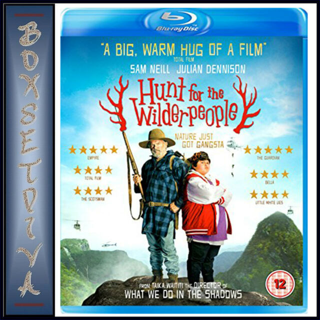 HUNT FOR THE WILDERPEOPLE -Sam Neill  *BRAND NEW BLU-RAY***