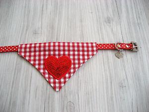 Halstuch-Halsband-27-33-cm-Halsumfang-Hundehalstuch-Dreieckstuch-Hundekleidung