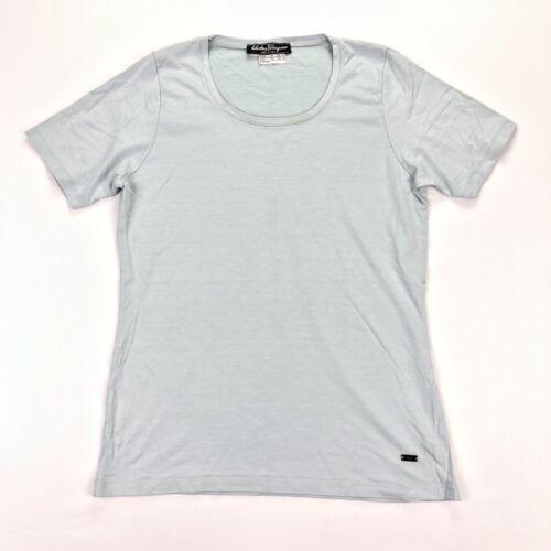 Salvatore Ferragamo Women's T-Shirt Silk Modal Lig