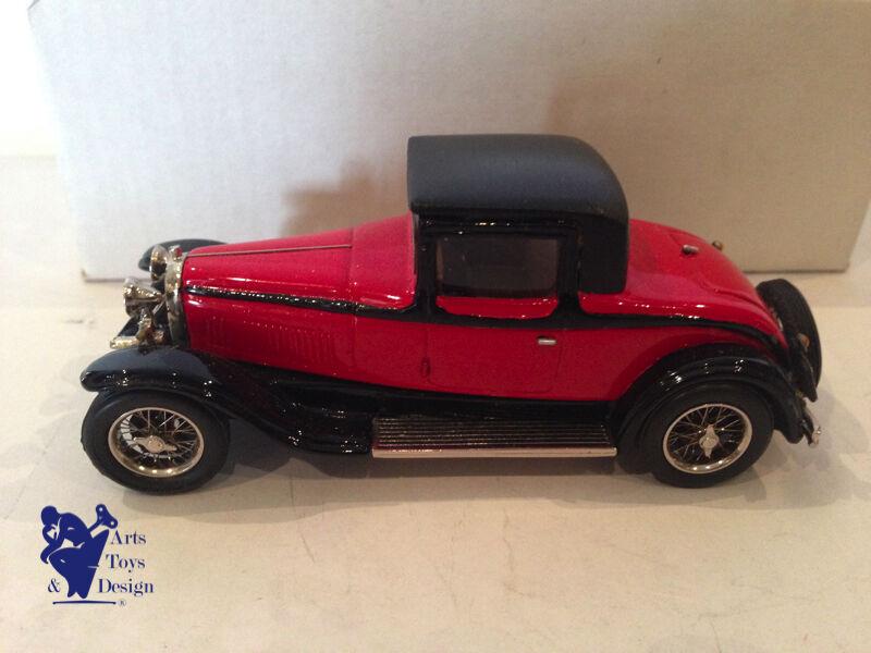 entrega gratis 1 43° MA COLLECTION BRIANZA FACTORY BUILT BUGATTI T T T 44 ROADSTER 1929 N°62  marca en liquidación de venta