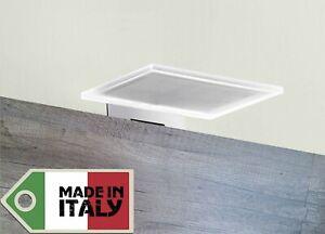 Lampada applique a led design moderno specchio bagno muro
