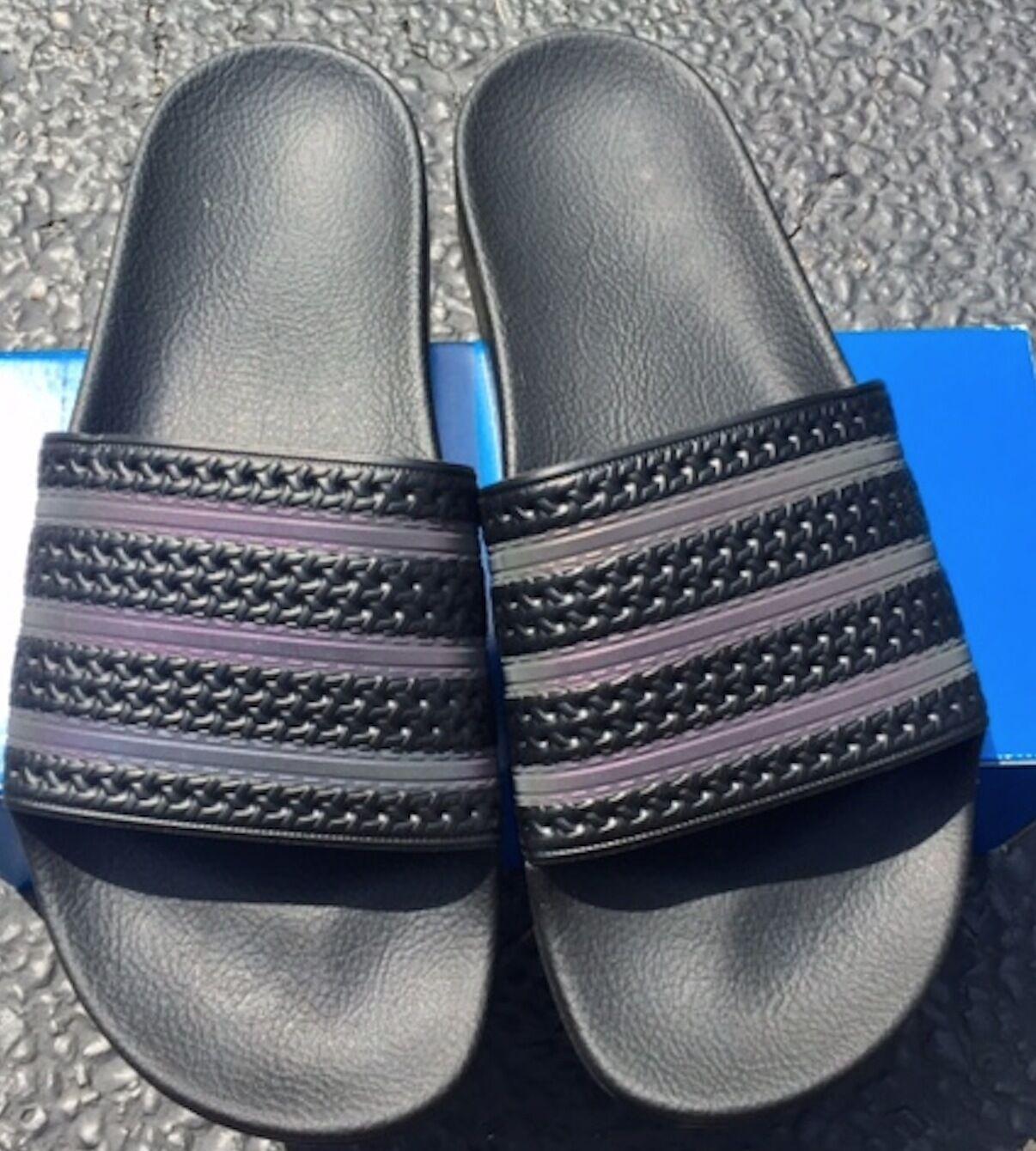 Neue!adidas adilette xeno - dias bb0116 dreifach gleiten - flip - flops gleiten dreifach schwarze Sandale db503c
