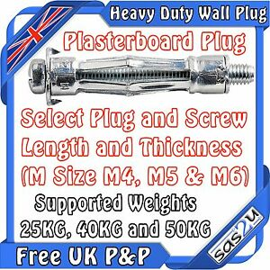 heavy duty metal cavity hollow wall plasterboard fixing. Black Bedroom Furniture Sets. Home Design Ideas