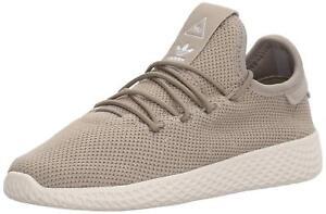 Détails sur Adidas Petit Enfant Pharrell Williams Tennis Hu Chaussures 3Y Tech Beige Ps