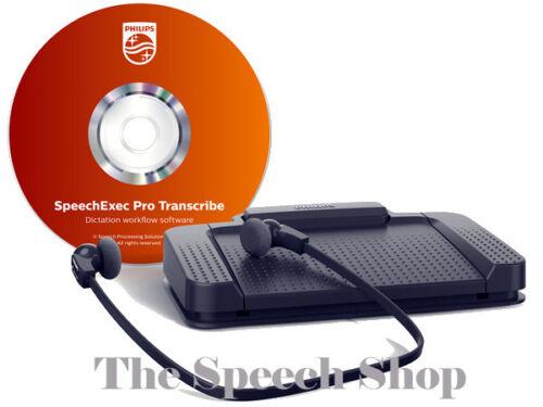 Pedal Headset Encryption Software Philips LFH7277//06 Pro Transcription Kit