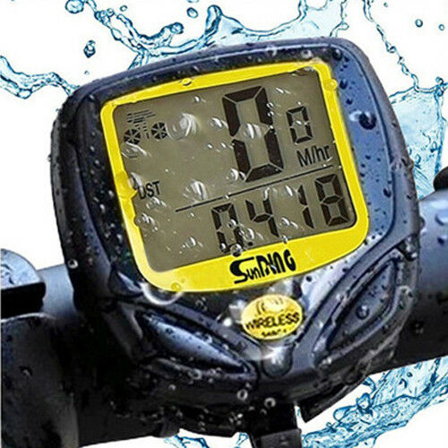 New Cycling Waterproof Wireless Road MTB Bike Speedometer LCD Computer Odometer