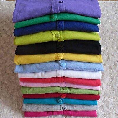 Girl Women Candy Crochet Knit Knitwear Jacket Cardigan Coat Outwear Sweater Tops