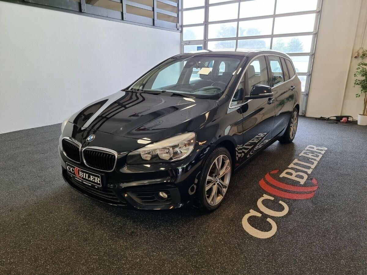 BMW 220d 2,0 Gran Tourer Advantage aut. 5d - 219.900 kr.