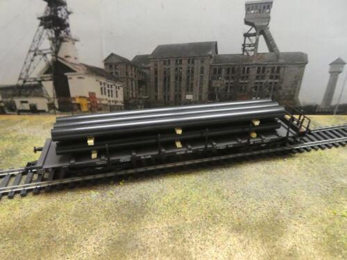 10 fürRungenwagen H0 Ladegut neu 6 Stahlrohre schwarz groß z.B