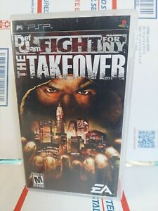Def Jam: Fight for NY The Takeover (Sony PSP) *ARTWORK & MANUAL Only* - NO GAME!