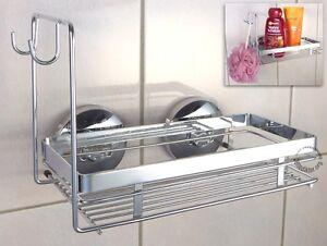 BADABLAGE MIT 2 HAKEN WENKO MAGIC LOC BADREGAL Badezimmer Regal ...