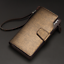 Men-039-s-Casual-Leather-Long-Wallet-Clutch-Purse-Bag-ID-Credit-Card-Holder-Billfold thumbnail 15