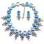 Fashion-Wedding-Caystal-Rhinestone-Choker-Bib-Necklace-Statement-Bridal-Jewelry thumbnail 38