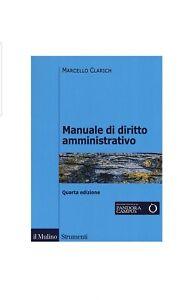 Manuale-Di-Diritto-Amministrativo-Di-MARCELLO-CLARICH-Nuovo-New-4-Edizione