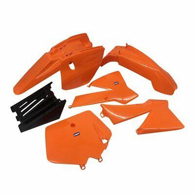 HMParts Pocket Bike Verkleidung Set komplett schwarz orange