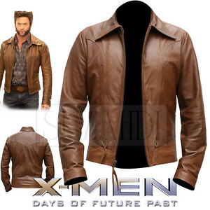 1e76582c85e Classic Leather Jacket Inspired by X-Men  Days of Future Past ...