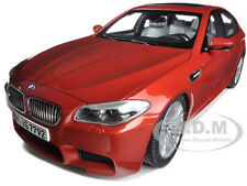 2012 BMW M5 (F10M) SAKHIR ORANGE 1/18 DIECAST MODEL CAR BY PARAGON 97013