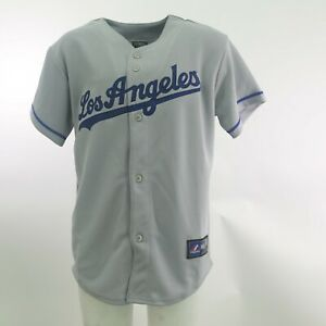 Los-Angeles-Dodgers-Official-MLB-Majestic-Apparel-Kids-Youth-Size-Jersey-New-Tag