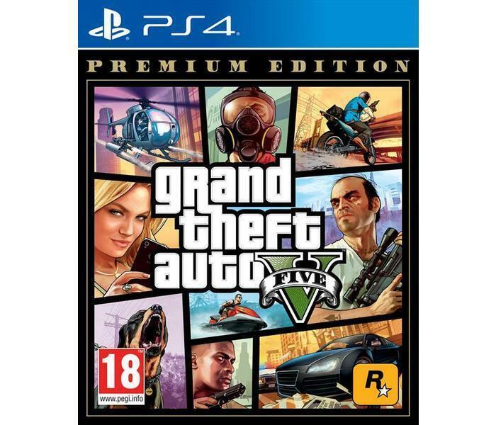 videogiochi e console: PS4 GIOCO GRAND THEFT AUTO 5 PREMIUM EDITION