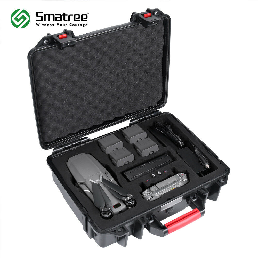Smatree Waterproof Hard Case for DJI Mavic 2 Pro or DJI Mavic 2 Zoom-Large