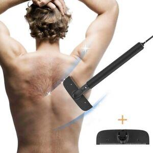 Indietro i capelli rasoio rasoio per uomo elasticizzato Body Trimmer addestratore nero Repl BLADE