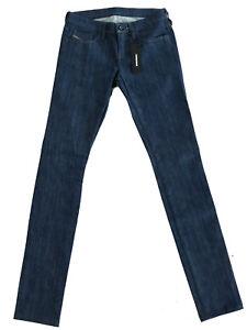 Diesel-Damen-Skinny-Fit-Stretch-Jeans-Hose-Indigo-Blau-W25-L32