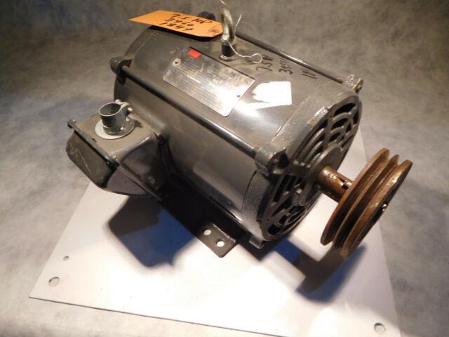 DAYTON 2HP AC MOTOR # 3KW32G  208-230//460VAC  60HZ RPM 184T  NEW! 1170  FR
