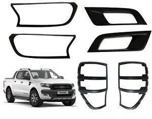 Leger-Housse-Protection-Kit-avant-Arriere-amp-Brouillards-Ford-Ranger-T7-Wildtrak