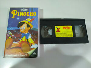 PINOCHO-PINOCCHIO-WALT-DISNEY-VHS-CINTA-TAPE-CASTELLANO