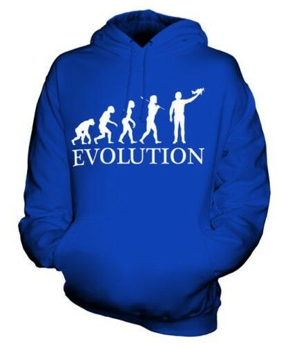 AEROMODELLER EVOLUTION OF MAN UNISEX HOODIE MENS WOMENS LADIES GIFT MODEL